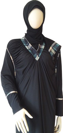 burberry abaya side view